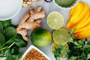 Ginger Lime Smoothie Ingredients 300