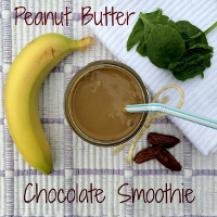 Peanut Butter Choloclate Smoothies 200x200